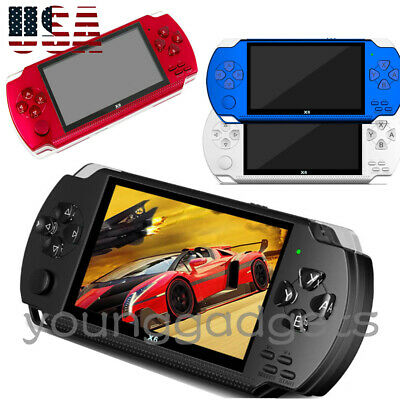 4.3 For PSP Portable Handheld Video Gaming Console Player 1000 Game Built-in 8GB