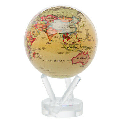 NEW Mova Small Antique Spinning Globe