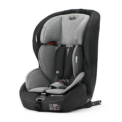 Kinderkraft Car Seat SAFETY FIX Booster Seat Isofix Group 1/2/3 9-36 kg Gray