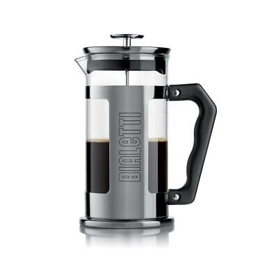 Cafetière à piston French Press 8 tasses Bialetti Verre 10 cm BIALETTI