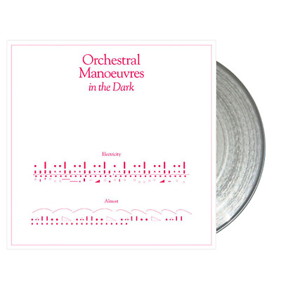"""Omd - Orchestral Manoeuvres In The Dark Electricity Clear Vinyl 7"""" 2019"""