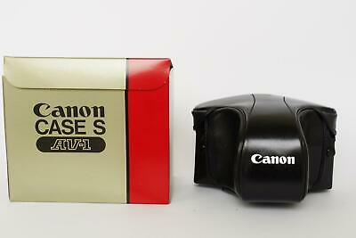 Canon Case S for AV-1 camera, AE-1 and Program fits, NOS, BOXED
