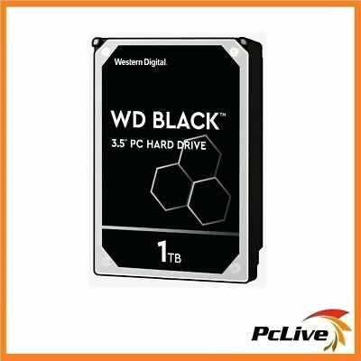 "Western Digital WD Black 1TB Hard Disk Drive 3.5"" 64MB Cache SATA 7200RPM HDD"