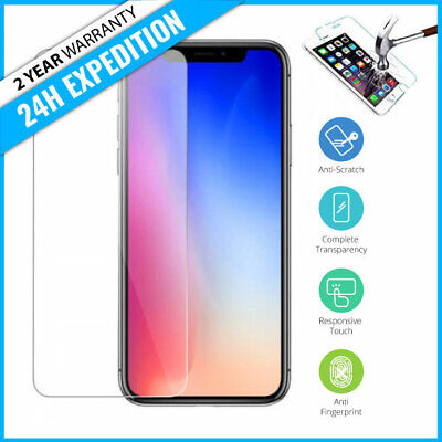 Screen Protector LCD Protecteur Real Tempered Glass Film iPhone 11 / Pro / Max