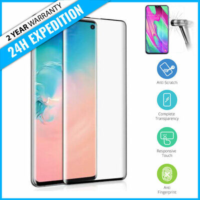 Screen Protector Protecteur Tempered Glass Samsung Galaxy S10 / S10e / S10 Plus