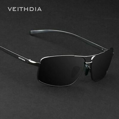 VEITHDIA Brand New Polarized Men's Sunglasses Aluminum Sun Glasses Eyewear Acces