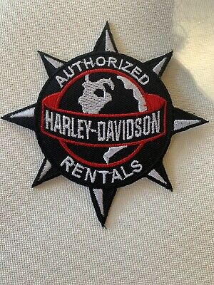NEW Harley Davidson Classic Logo Patch Sew Iron Motorcycle Bike MADE IN USA