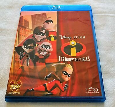 blu ray Les Indestructibles Disney Pixar The Incredibles