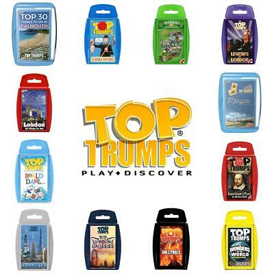 Top Trumps Educational Card Games - Brand New Sealed - Direct from Manufacturer