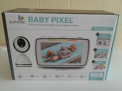 Summer Infant Baby Pixel 5.0 Inch Touchscreen Color Video Monitor