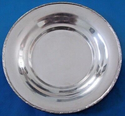 Antique  TIFFANY & Co. Sterling Silver  Dessert Plate 1902-1907 No Monogram
