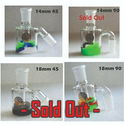 Glass Reclaimer Connector Male 14mm 45° - Bougie Glass - FREE SHIPPING
