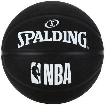 Spalding NBA Basketball - schwarz orange