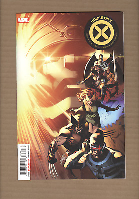 House Of X #3 - 1St Print Cover A Hickman Marvel Comics 2019 Nm
