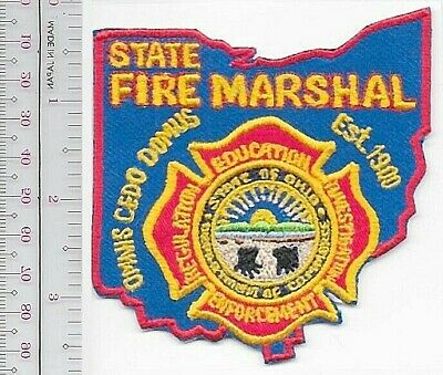 """Fire Marshal Office Texas Livingston fire patch 4/"""" x 4/"""" size Arson"""