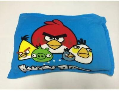 NEW Kids Faux mink pillow case - ANGRY BIRD