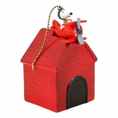 Treasure Co Trio Peanuts Snoopy Plane and Dog House Bank (x in Tall with