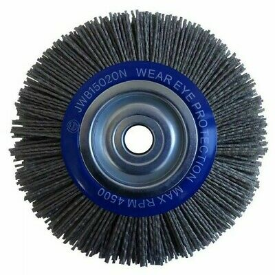 Josco CRIMPED ABRASIVE NYLON WHEEL BRUSH *Australian Brand- 150mm Or 200mm