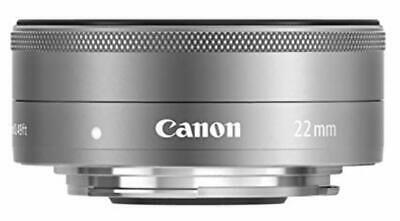 Replacement lens for Canon SLR camera / mirror-less camera EF-M22mm F2 STM