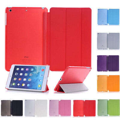 For iPad 6th Gen 9.7 Air 10.5 2019 Smart Slim Magnetic Leather Stand Case Cover~
