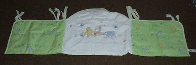 Mothercare Winnie  The Pooh Cot Bumper Also For For A Cot Bed