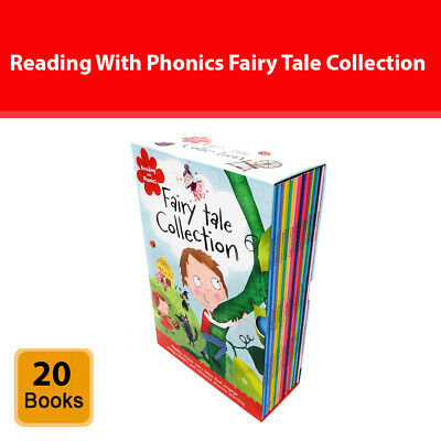 Reading With Phonics Fairy Tale Collection 20 Books Set Children's Pack NEW