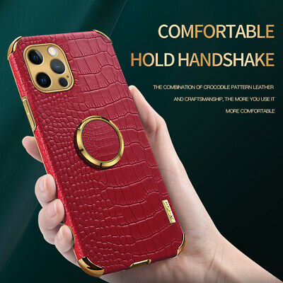 Stand Finger Ring Shockproof Hybrid Hard Case For iPhone XR 11 Pro Max XS 7 8 6S