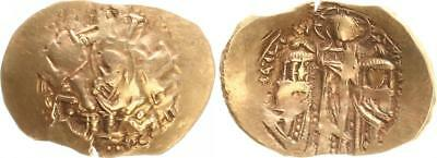 Gold Hyperpyron 1295-1305 Antique/Byzanz/Andronicus Ii.konstantinopel Ss