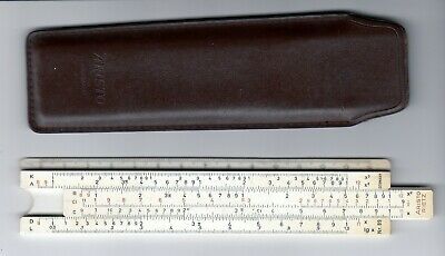 Aristo Rietz German Slide Ruler Nr. 89 with Leather Case