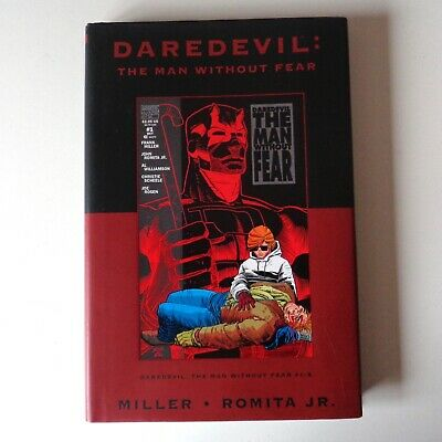 Marvel Premiere HC: Daredevil The Man Without Fear - Frank Miller hardcover