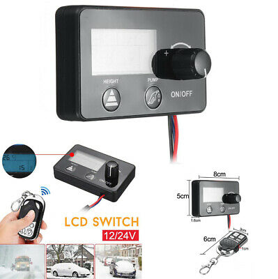 12/24V Car Truck Diesel Air Parking Heater LCD Monitor Switch +Remote Controller