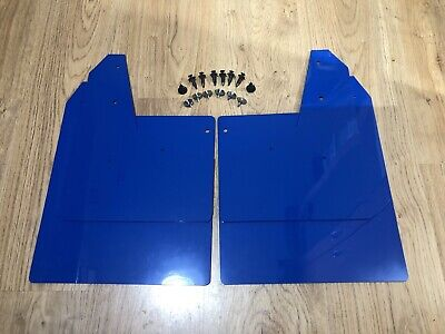 WRX / STI Mud Flaps / Guards 2015 - 2018 BLUE
