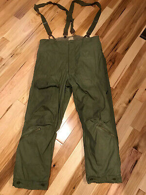 Vintage 1944-5 WWII US Army Air Force Type A-9 Green Flight Pants size 42