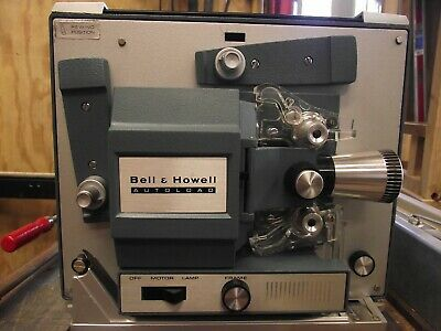 Vintage Bell & Howell Autoload 8Mm Movie Projector No 357A