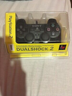 (*OPEN TO OFFERS) Official Sony PlayStation 2 DualShock 2 Controller Black (PS2)