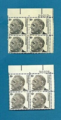 Usa Postage Stamps Lot Of Mint Blocks Of 4 6 Mckinley