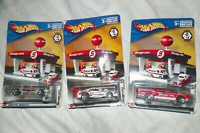 Hotwheels 3 Snapon Specialty Cars #'S 3, 5, & 6