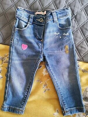Baby Girls Billie Blush Billieblush Jeans Age 12 Months RRP £30