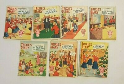 Trixie's Diary The Schoolgirls Own Library 7 Titles  255 229 249 203 213 221...