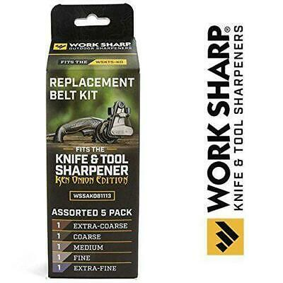 Belt Kit Official Replacement for the Work Sharp Knife and Tool Sharpener