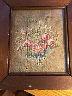 Hundred-year-old Needlepoint