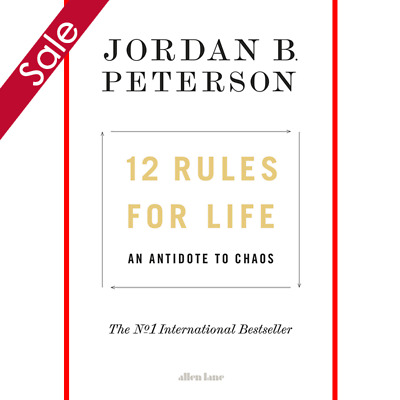 12 Rules for Life - Jordan B. Peterson (Fast Delivery )