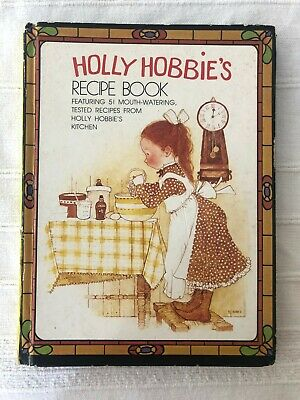 Vintage Holly Hobbie's Recipe Book.
