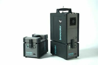 3 x Broncolor Verso A2 A4 Power Dock Studio Location Battery Photography