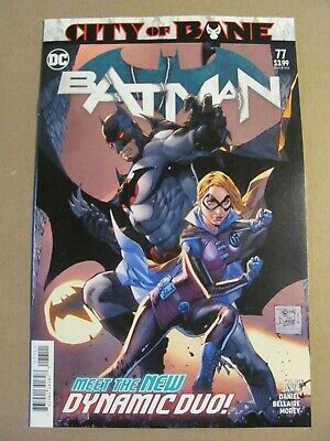 Batman #77 DC Universe 2016 Series City of Bane Death of Alfred 9.6 Near Mint+