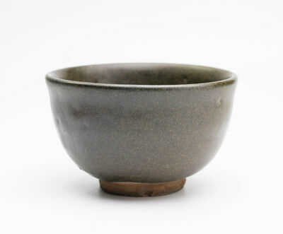 Rera Kuro-Karatsu Ware Japanese Pottery Tea Bowl Matcha Over 230 Years Ago