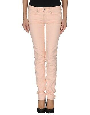 Mauro Grifoni Reserved Tailoring Bright Pink Ladies Designer Jeans>W25/L32