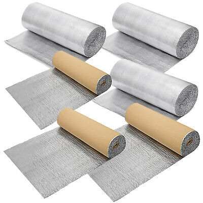 Single/Double Bubble Reflective Foil Insulation Thermal Barrier Self Adhesive