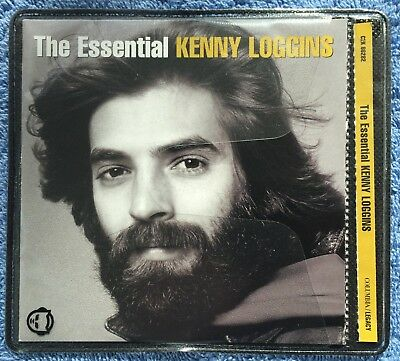 3 CDs by Kenny Loggins: Back To Avalon, The Essential (Greatest Hits, Double CD)