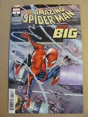 Amazing Spider-Man Going Big #1 Marvel 2019 One Shot Variant 9.6 Near Mint+